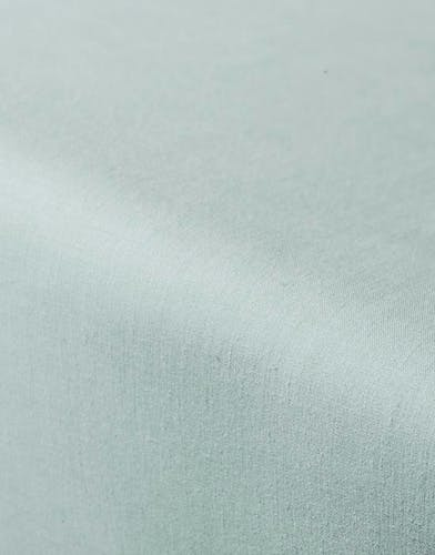 ESSENZA Premium Percale Dusty green Fitted sheet
