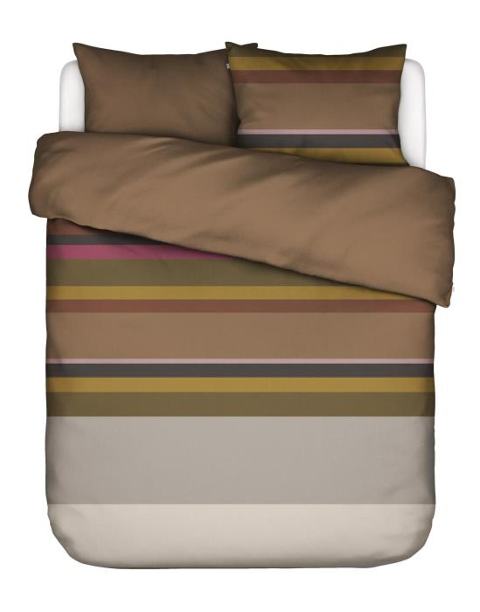 ESSENZA Edith  Duvet cover Brown