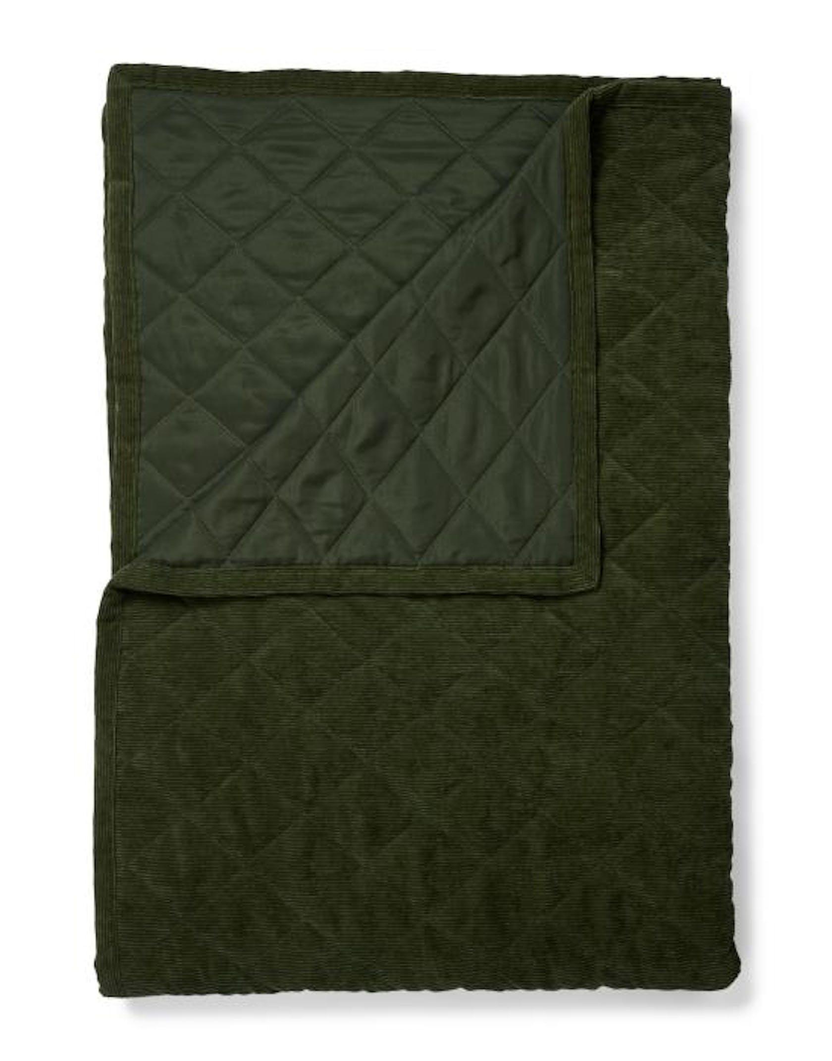 ESSENZA Billie  Quilt Dark Green