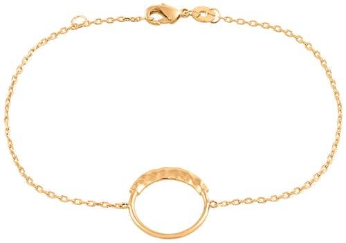 Ce Bracelet YUCATAN est en Plaqué or