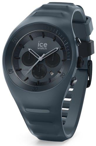 Montre ICE-WATCH LECLERCQ Homme avec Boitier Rond 49 mm et Bracelet Silicone Gris