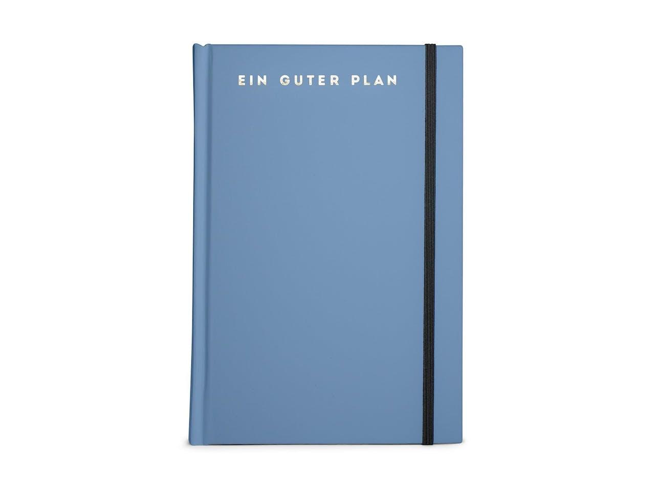 Wochenkalender Ein guter Plan Pro, 2019, 13 x 20 cm, Hardcover, Vinyl-Einband, taube