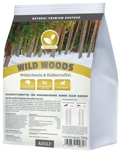 Natural Trockenfutter Wild Woods
