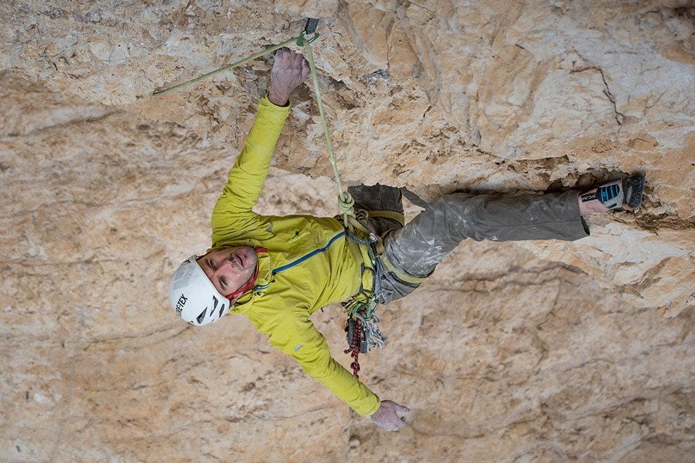 Dave MacLeod, Pic: Matt Pycroft
