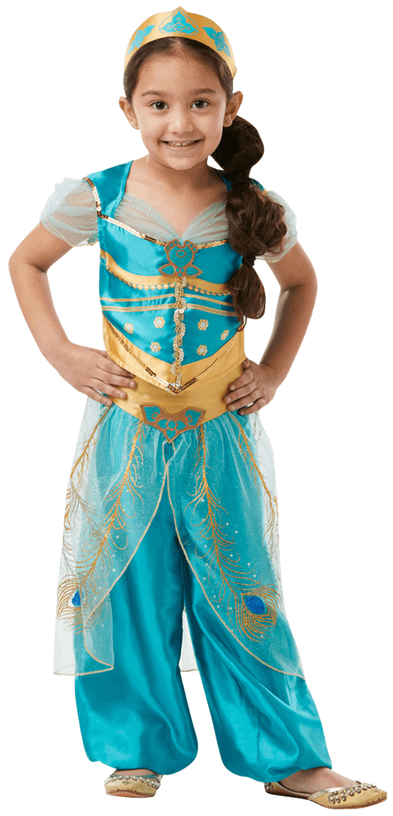 Kids Live Action Jasmine Costume