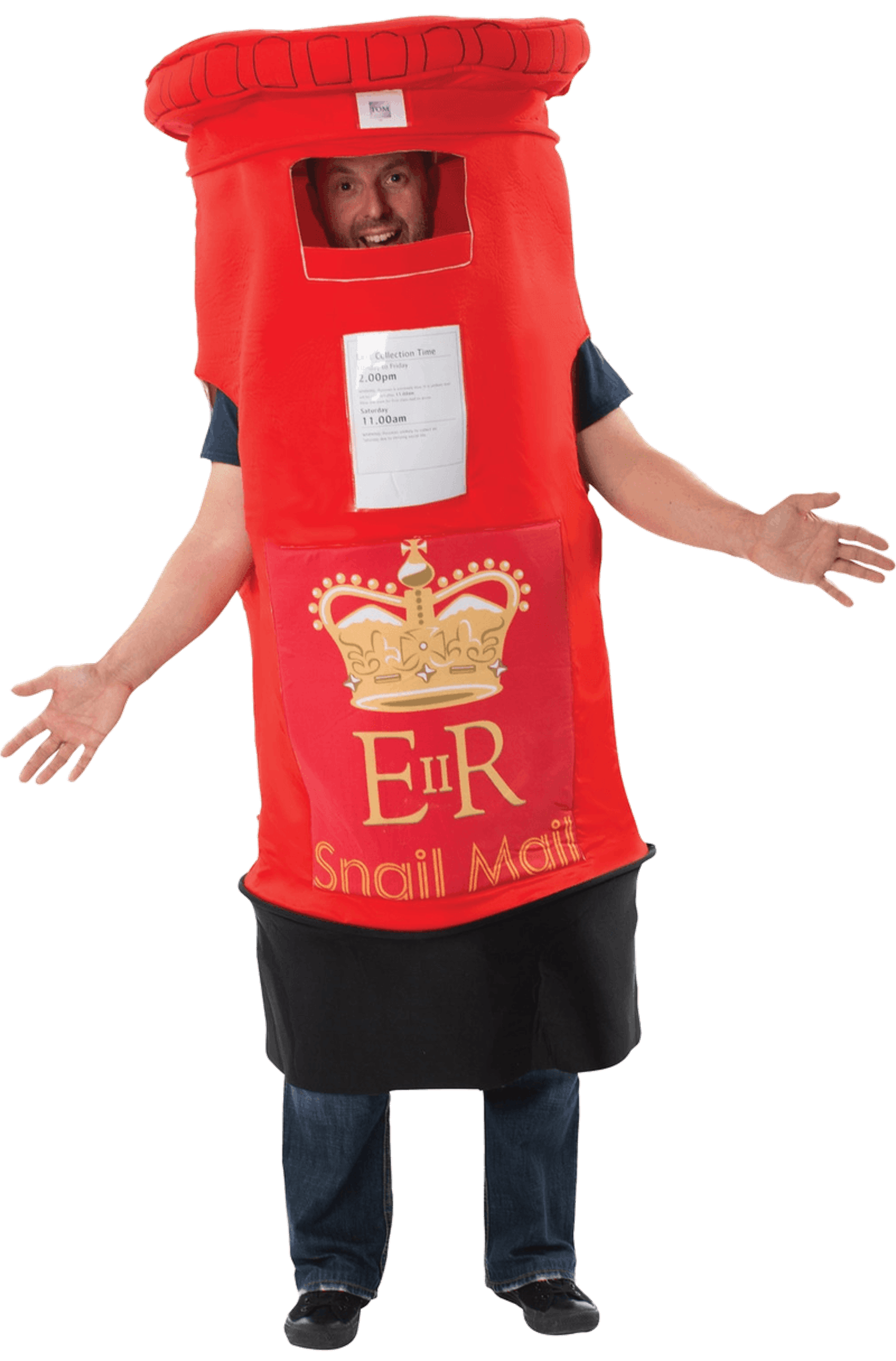 Adult Novelty Post Box Costume