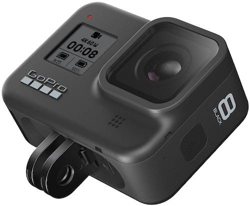 GoPro HERO 8 Black - integrierte Halterung