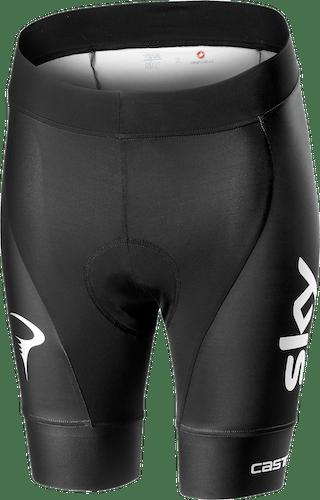 Castelli Team Sky 2019 Fan 19 - pantaloni bici - donna