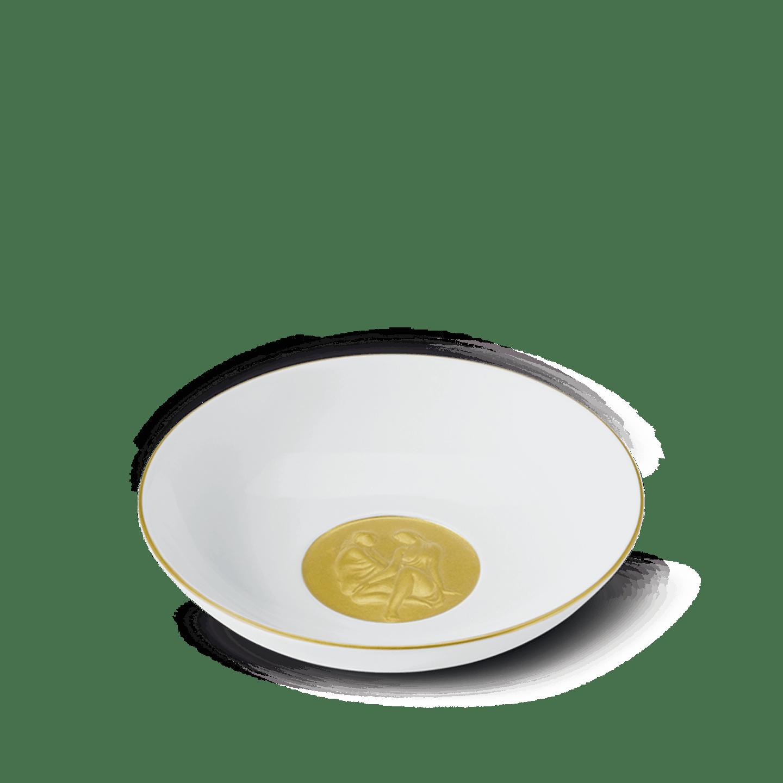 Schmuckteller, mit vergoldetem Medaillon