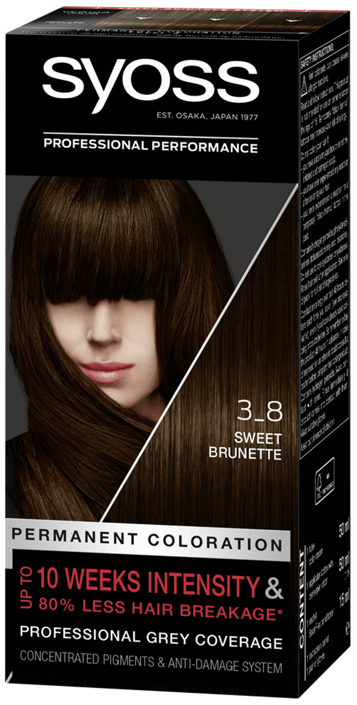 Syoss Professional Performance 3-8 Sweet Brunette
