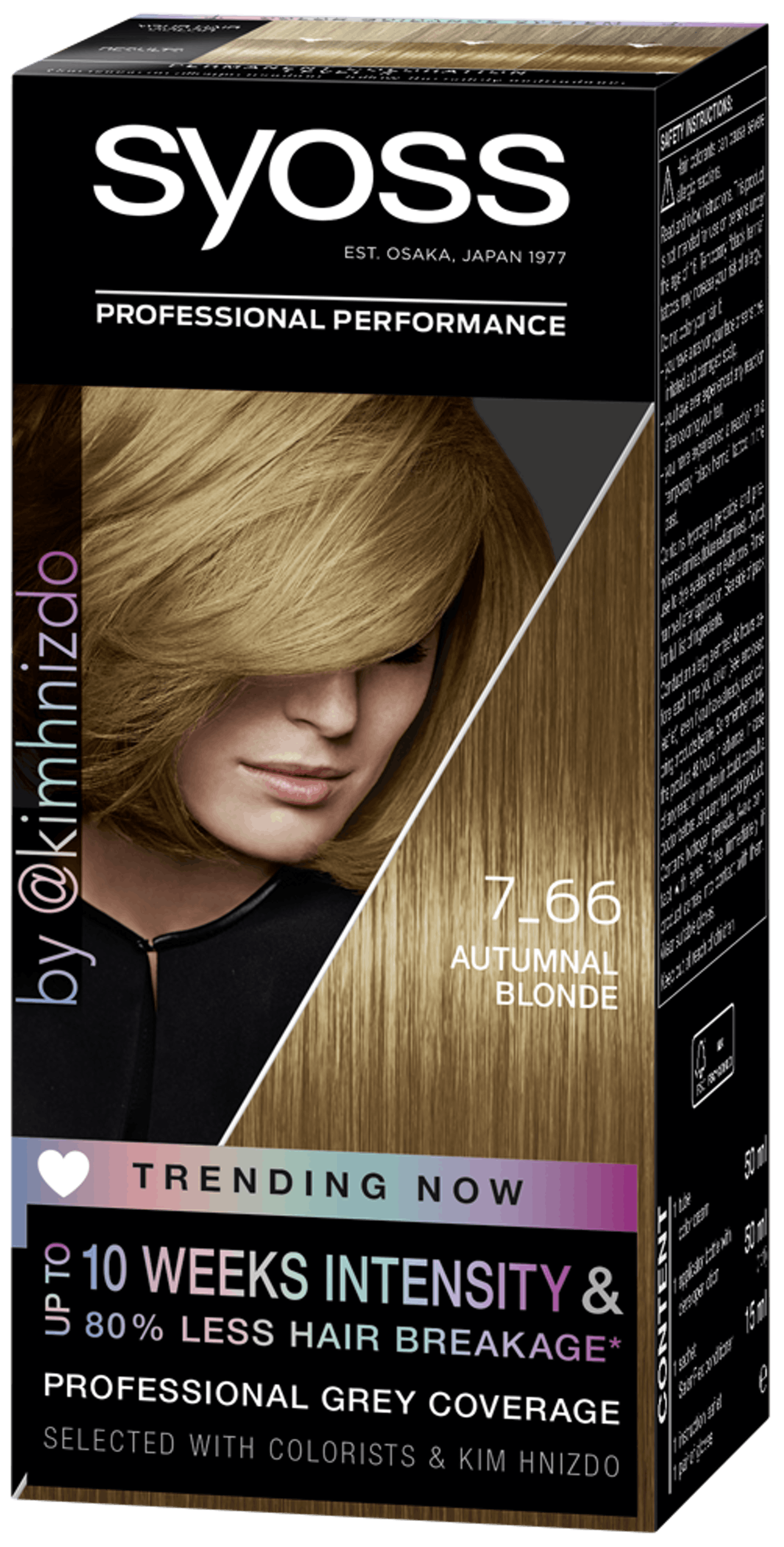 Syoss Permanent Coloration Trending Now 7_66 Autumnal Blond