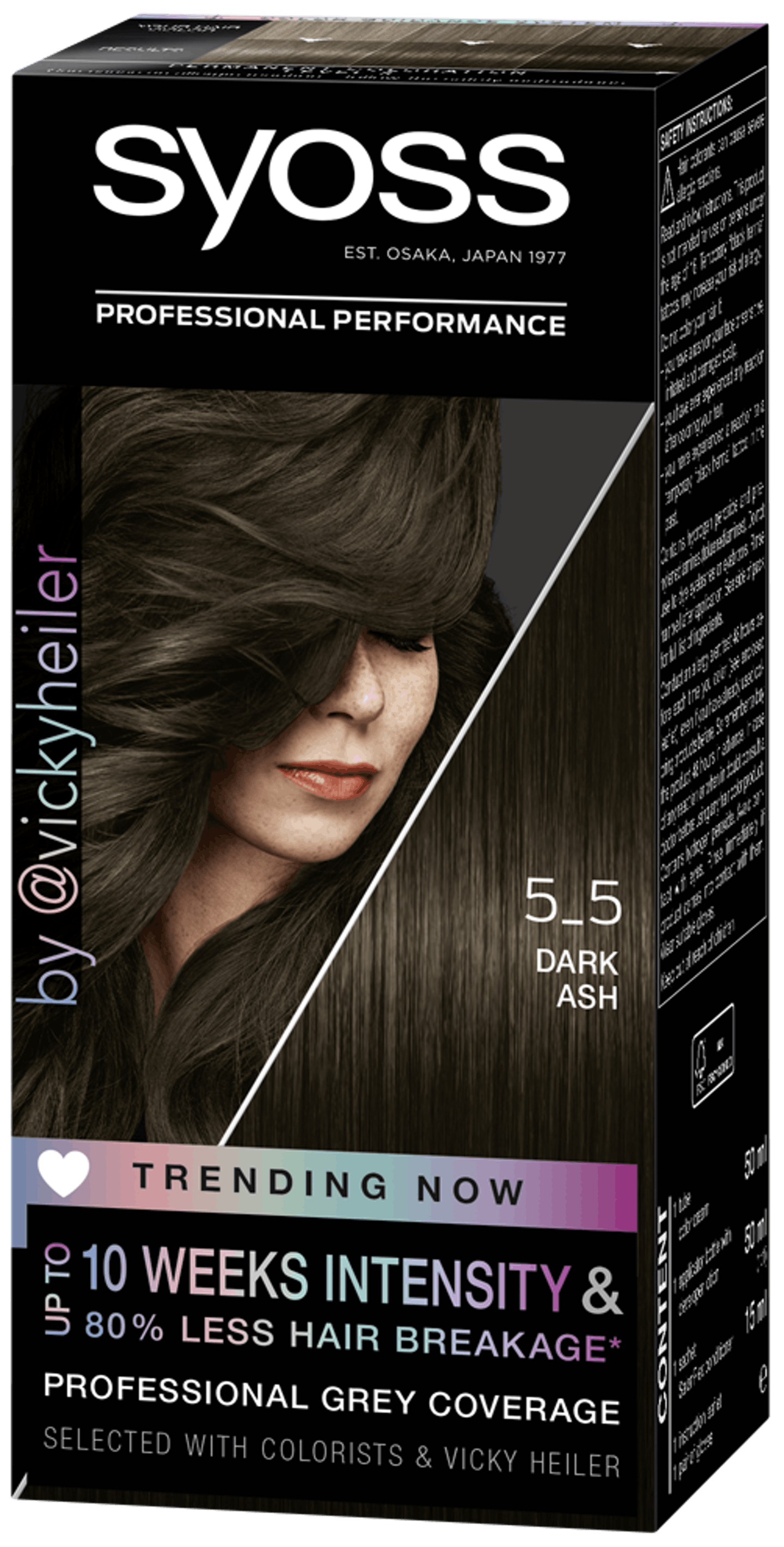 Syoss Permanent Coloration Trending Now 5_5 Dark Ash
