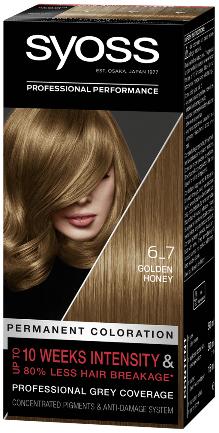 Syoss Permanent Coloration 6_7 Golden Honey