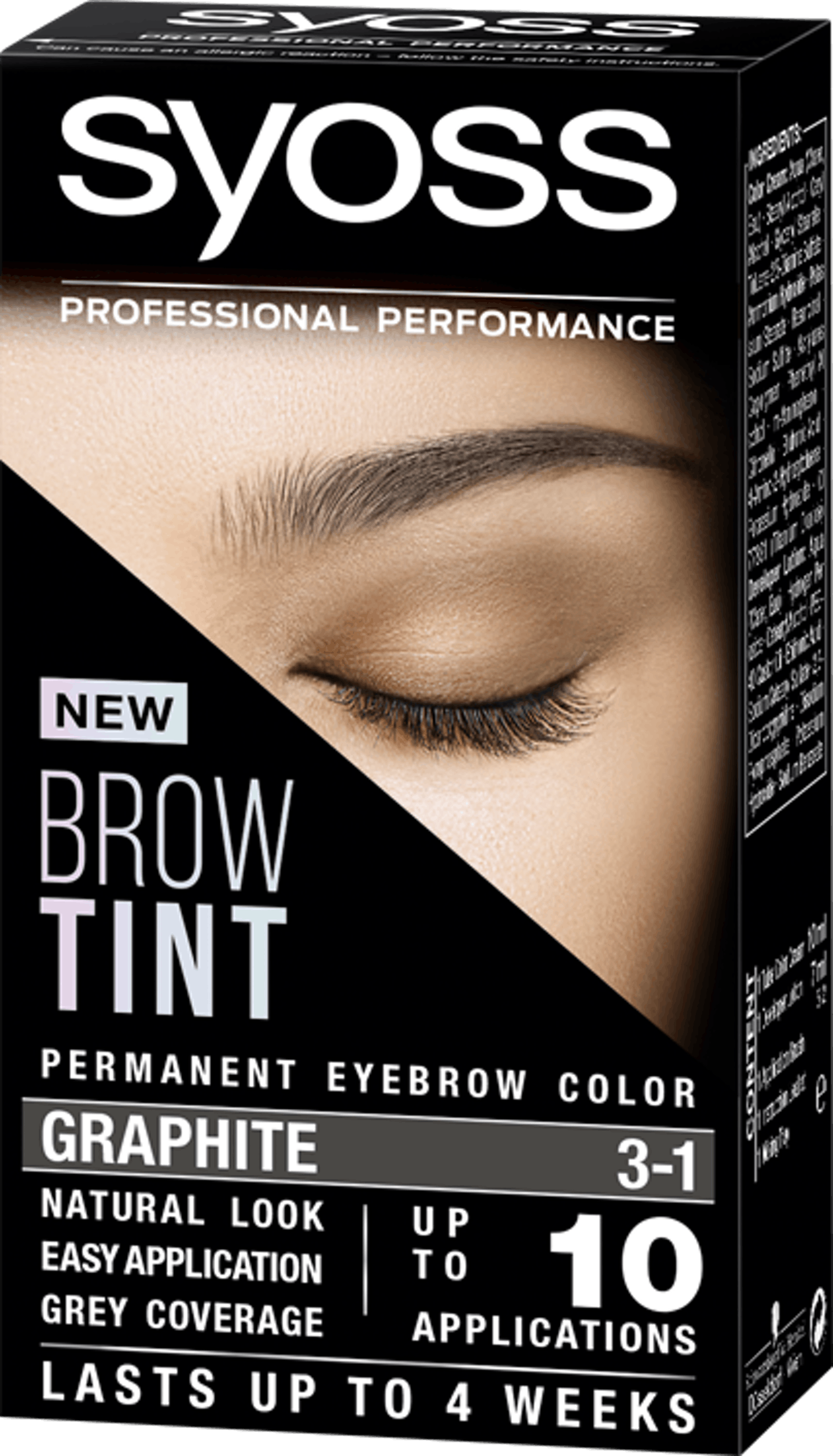 Syoss Brow Tint 3-1 Graphite