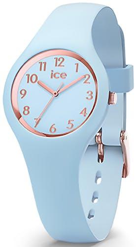 Cette montre ICE-WATCH se compose d'un boîtier Rond de 28 mm et d'un bracelet en Silicone Bleu
