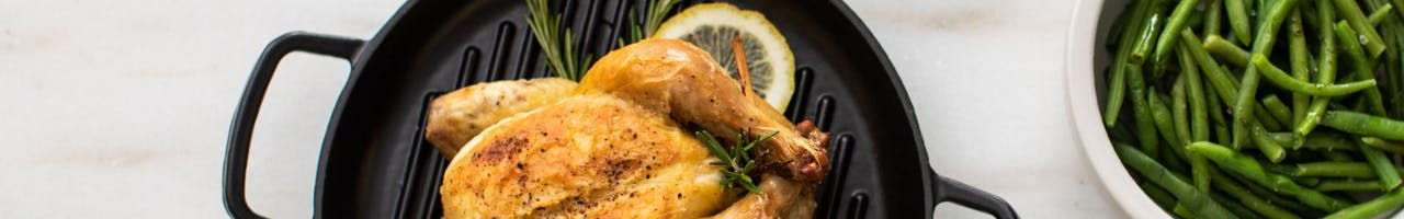 Roasted Cornish Game Hens with Lemon and Rosemary