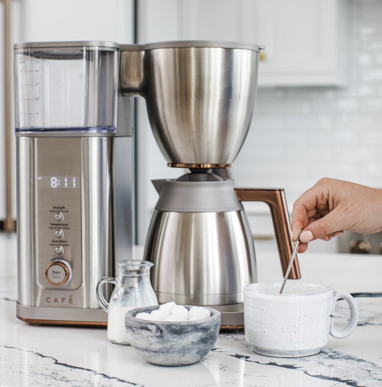 Cafe Stainless coffee maker