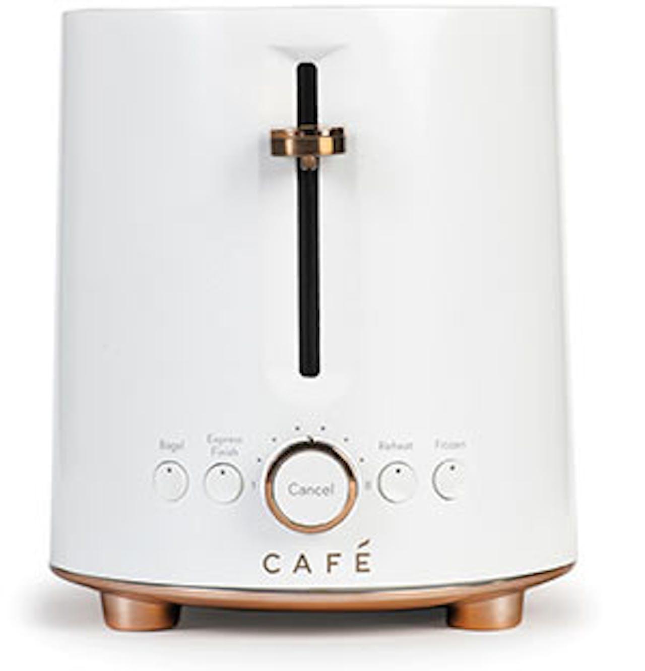 Matte White Toaster
