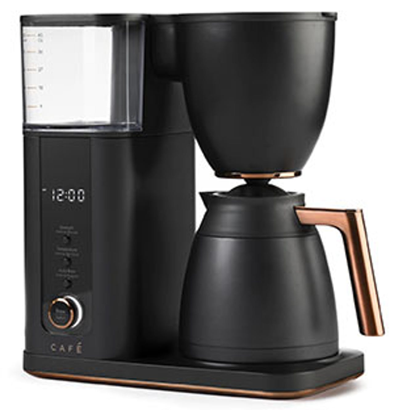 matte black coffee maker