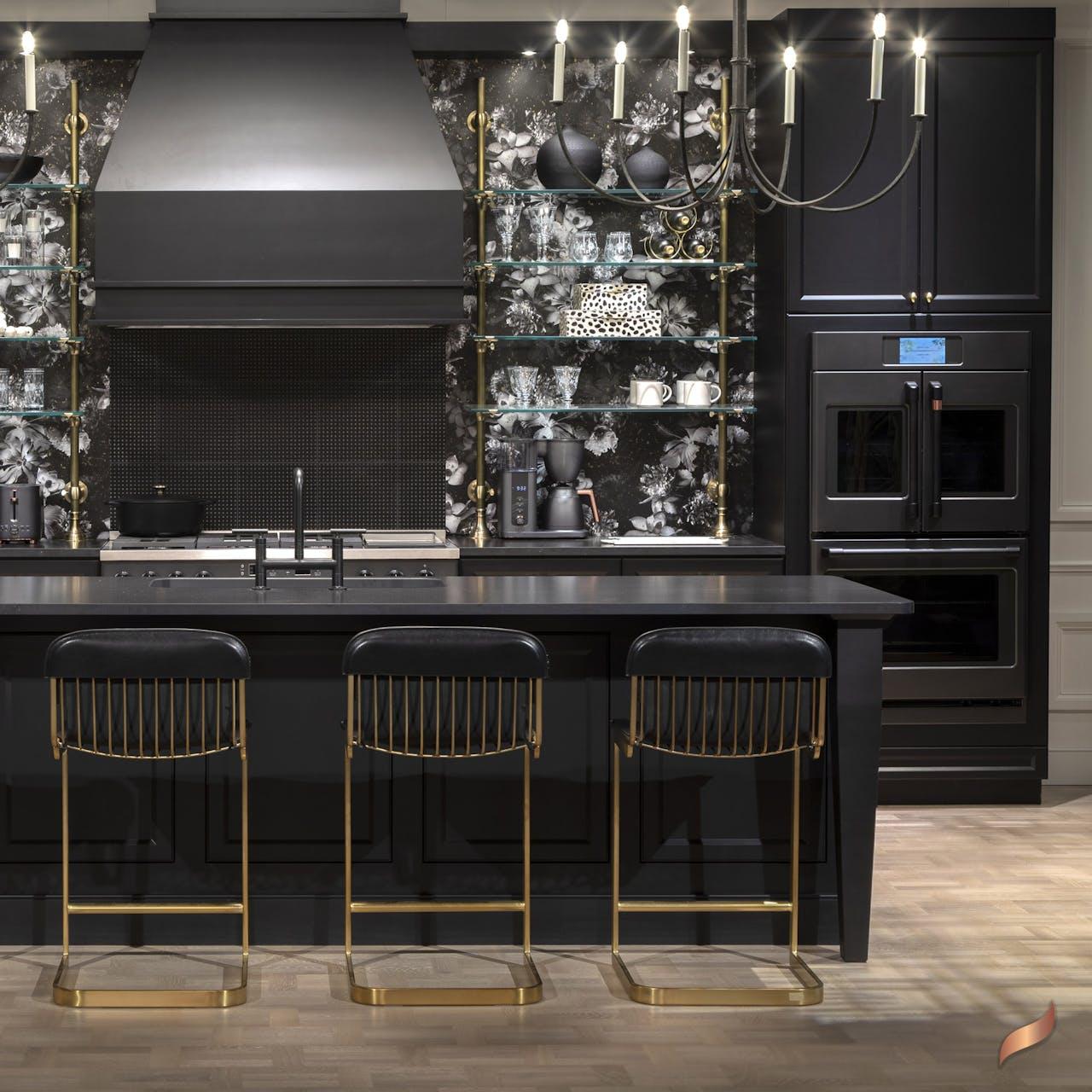 Midnight Luxe Kitchen