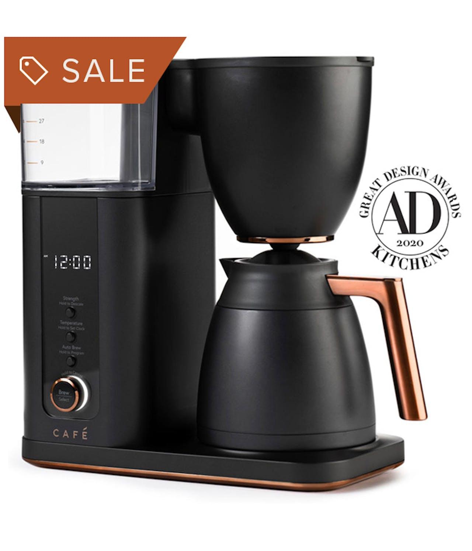 matte black coffee maker on sale