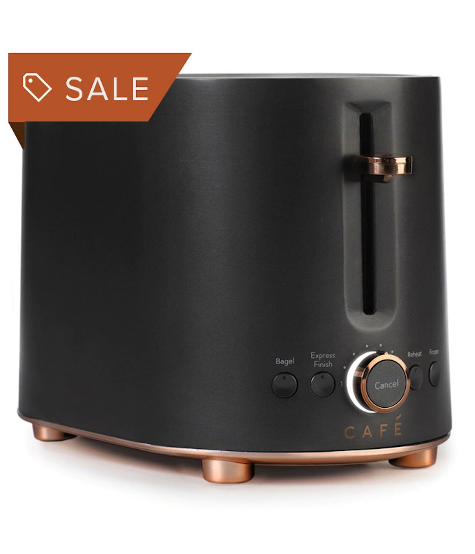 Matte Black toaster on sale