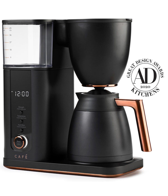 Matte black Thermal carafe coffee maker
