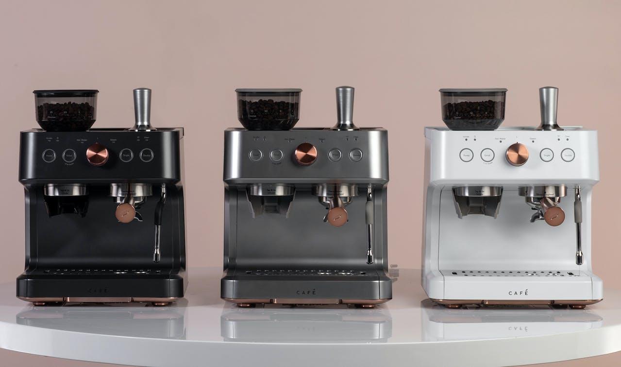 3 colors of Bellissimo Semi-Automatic Espresso Machine