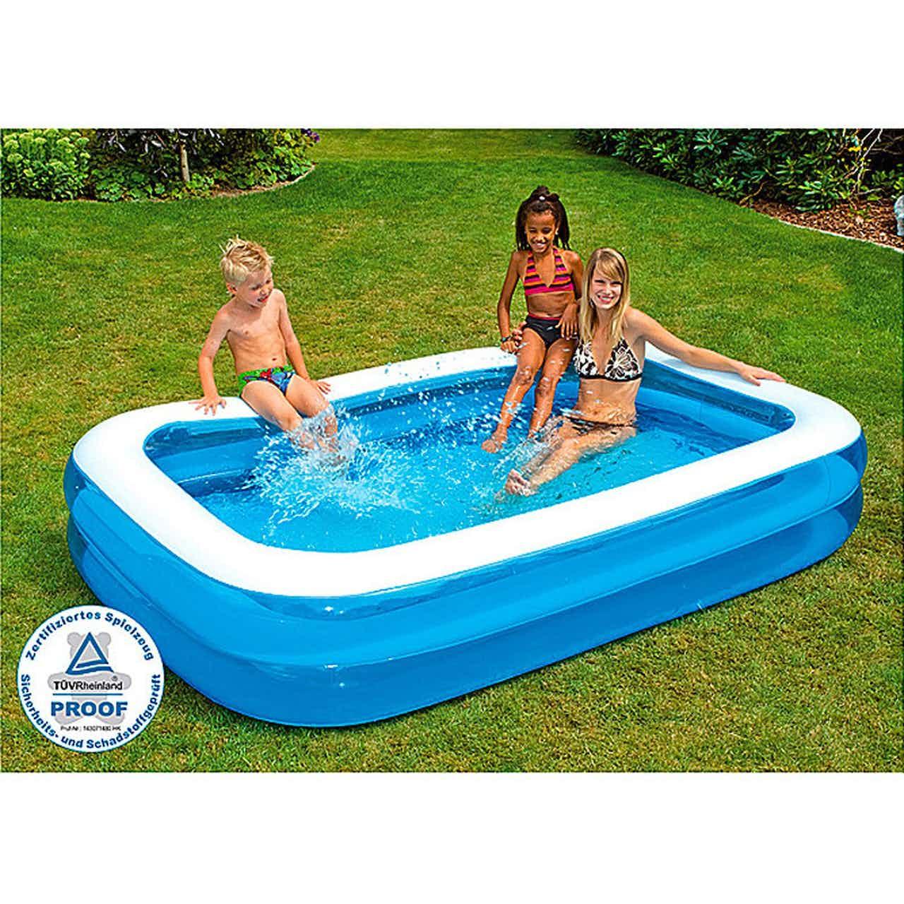 Swimming Pool Family 262 cm x 175 cm x 50 cm