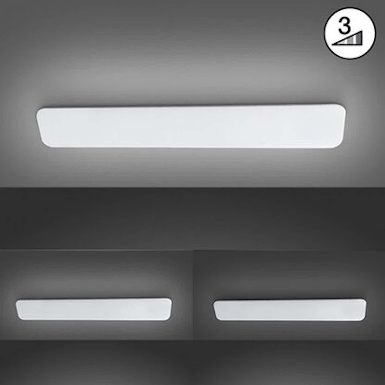 Fischer & Honsel LED-Deckenleuchte Aldo Weiß 60 x 19 cm