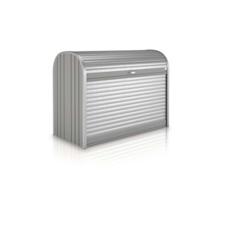 Biohort Garten-Aufbewahrungsbox StoreMax 190 Quarzgrau-Metallic