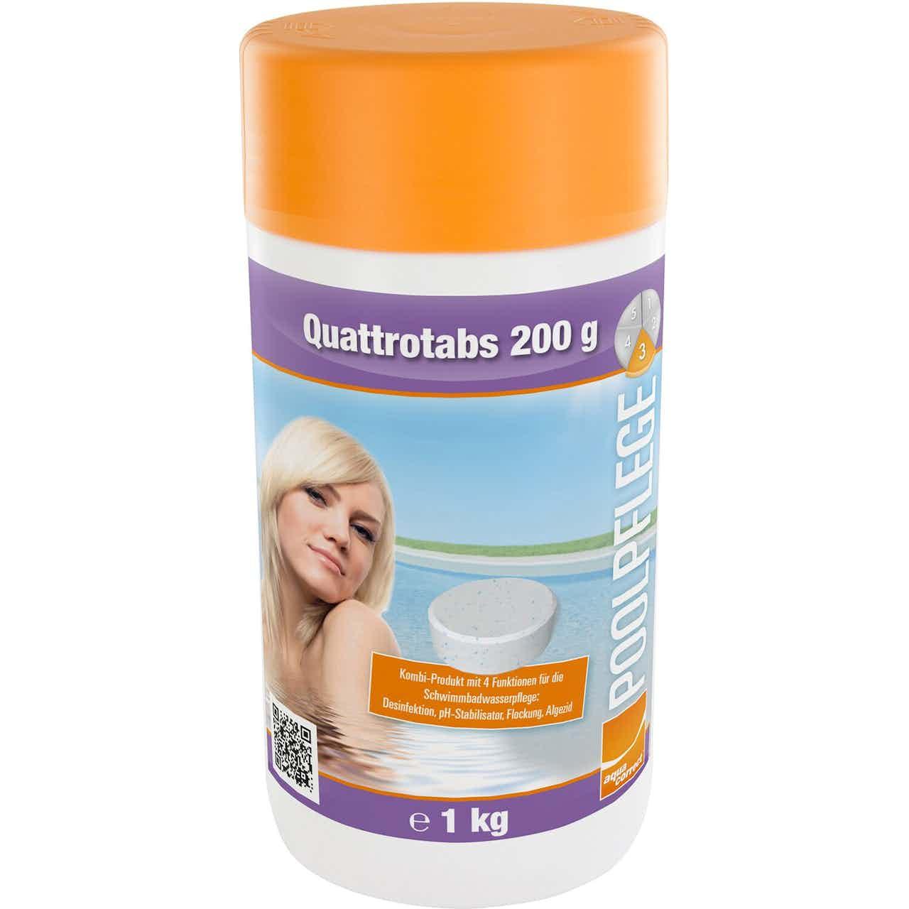 Steinbach 4-in-1 Multifunktionstabletten Quattrotabs 200 g organisch Inhalt 1 kg
