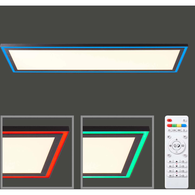 LED-Deckenleuchte Adirane 100 cm x 30 cm