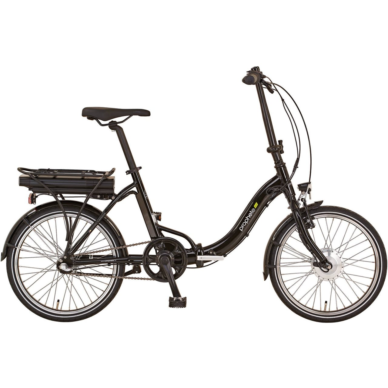 "Prophete E-Bike Unisex City-Fahrrad 20"" Urbanicer 20.ESU.10"