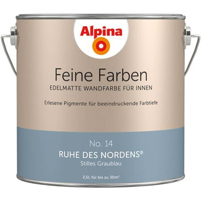 Alpina Wand- und Deckenfarbe Feine Farben edelmatt 2,5 Liter