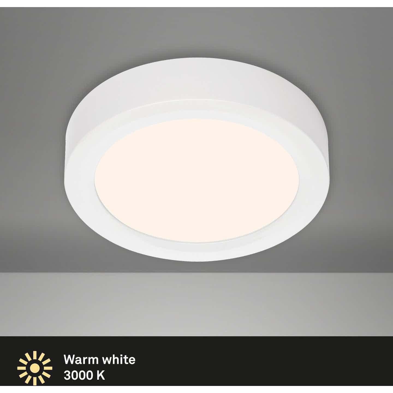 Briloner LED-Decken-& Wandlampe Fire Weiß Ø 17 cm EEK: A-A++