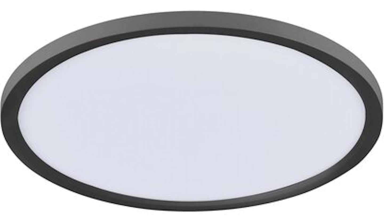 LED-Panel Flat Ø 40 cm ultraflaches Design 2700 K - 5000 K Schwarz-Weiß