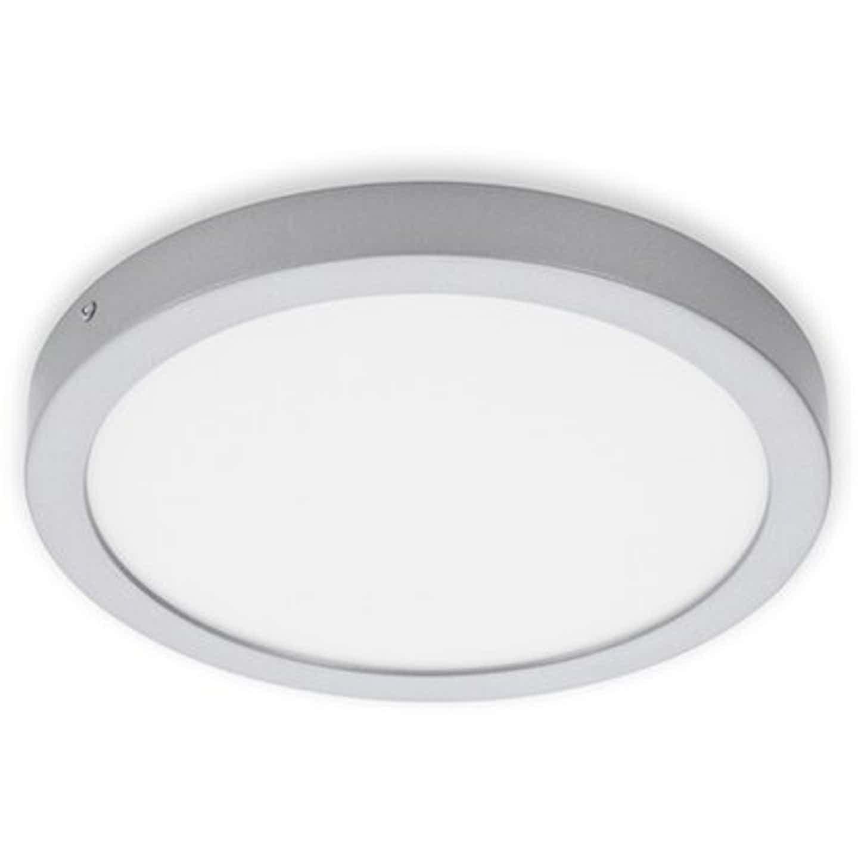 Briloner LED-Decken-& Wandlampe Fire Chrom Matt 21 W Ø 30 cm Neutralw. EEK:A-A++