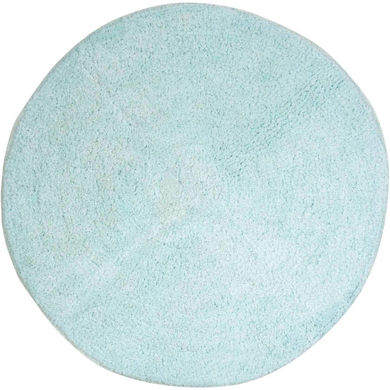 Badteppich Luanda Baumwolle Ø 57 cm Pastellgrün