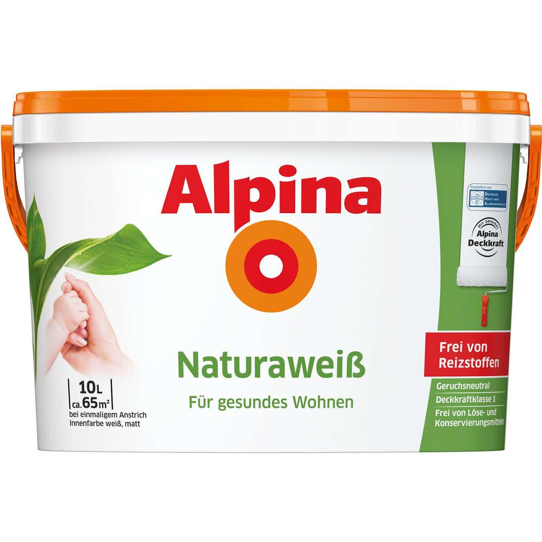 Alpina Natura Weiss matt 10 Liter