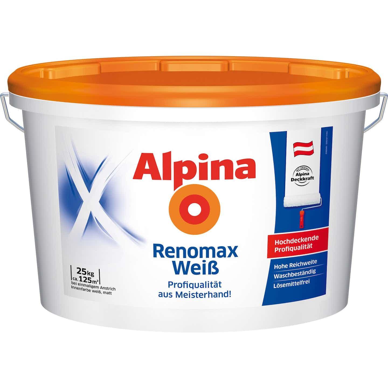 Alpina Renomax Weiß matt 25 kg