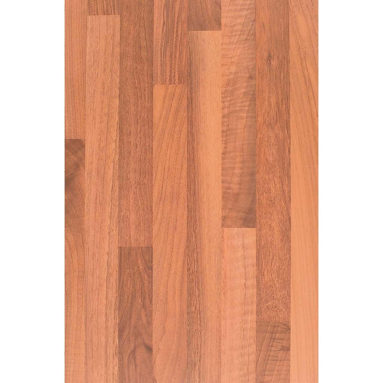 Mehrzweckplatte 260 cm x 60 cm x 2,8 cm Nussbaum Holznachbildung