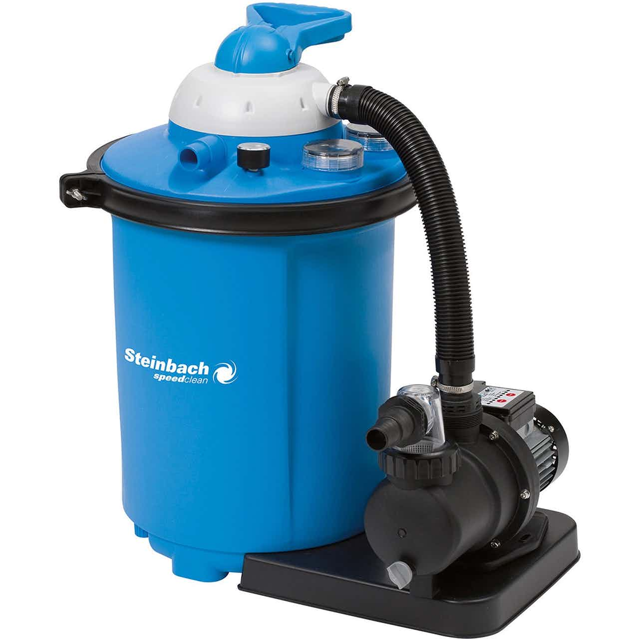 Steinbach Sandfilteranlage Speed Clean Comfort 75 für Pools bis 40 m³ 550 W
