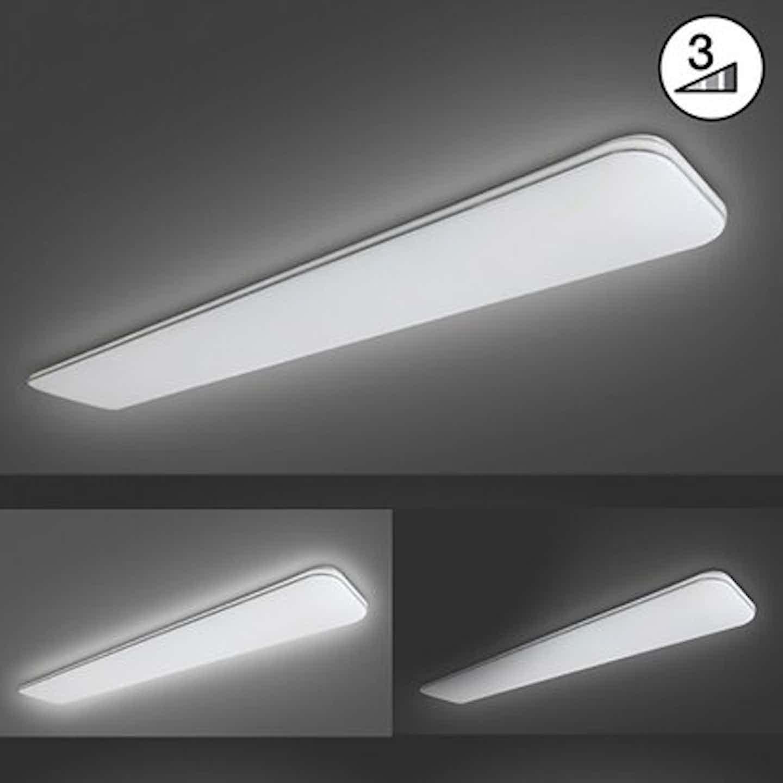 Fischer & Honsel LED-Deckenleuchte Aldo Weiß 120 x 19 cm