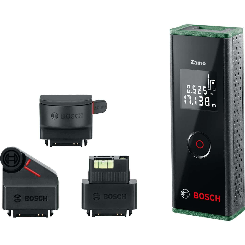 Bosch Laser-Entfernungsmesser-Set Zamo III mit 3 Adaptern
