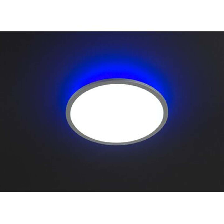 Wofi LED-Deckenleuchte Linox RGBW Ø 60 cm EEK: A