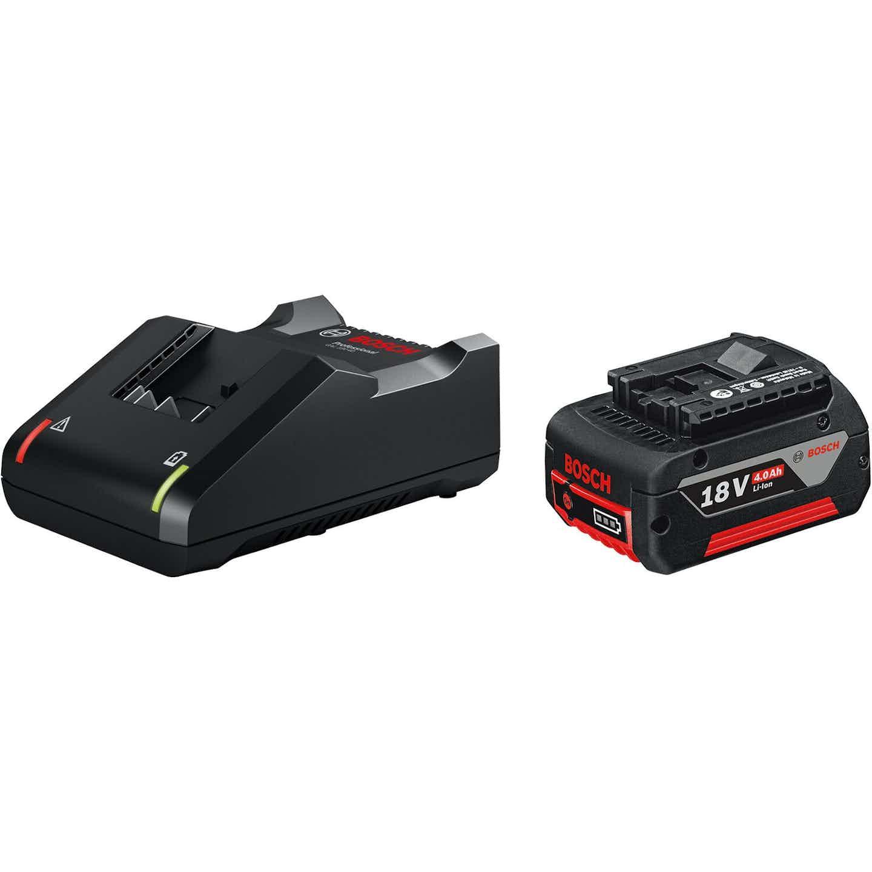 Bosch Professional Akku-Starter-Set GBA 18 V 4 Ah & GAL 18 V-40
