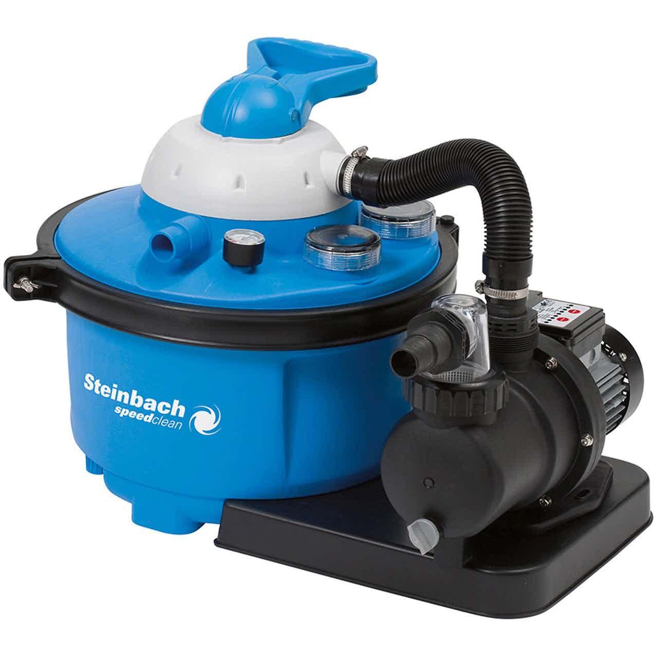 Steinbach Sandfilteranlage Speed Clean Comfort 50 für Pools bis 33 m³ 450 W