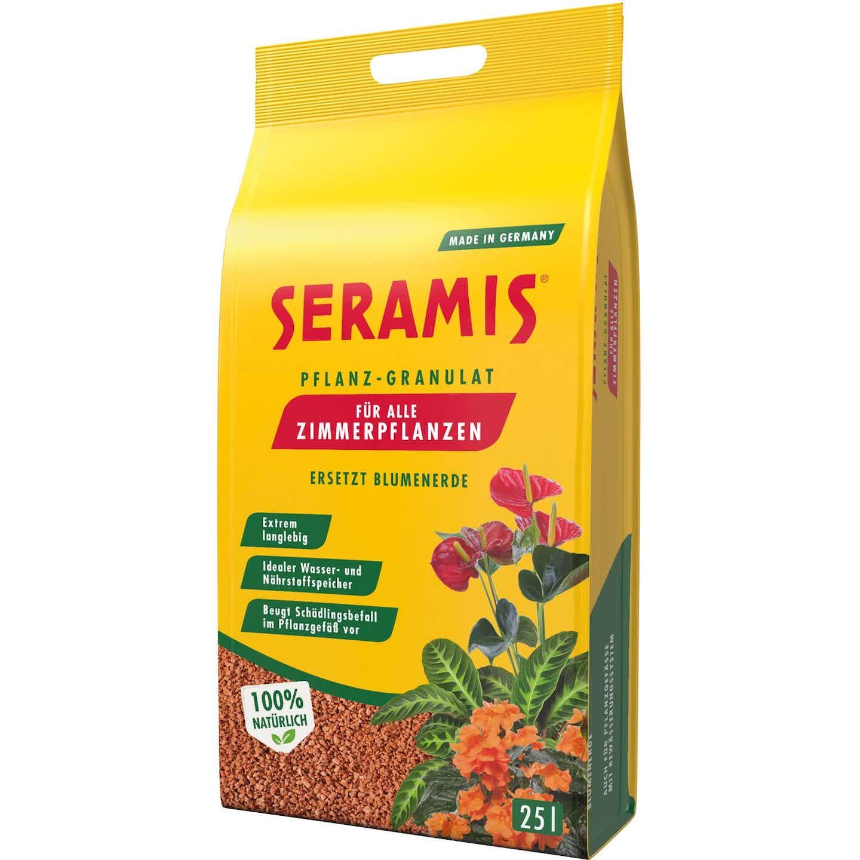 Seramis Pflanzgranulat für Zimmerpflanzen 25 l