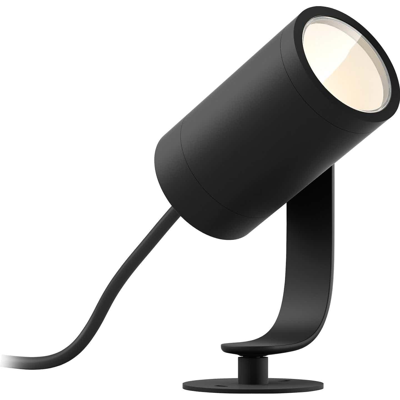 Philips Hue LED-Spot 1er Lily Schwarz Base-Kit EEK: A+